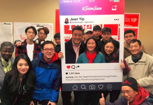 叶嘉丽Jean Yip 竞选办公室本周进展