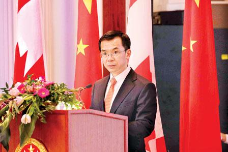 中国驻加拿大大使卢沙野发表文章,推动中加关系深入发展