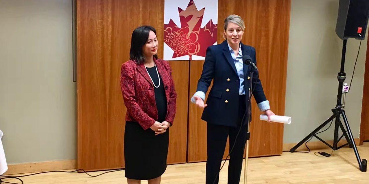 联邦文化遗产部部长Melanie Joly分享即将对中国展开的创意产业贸易之旅