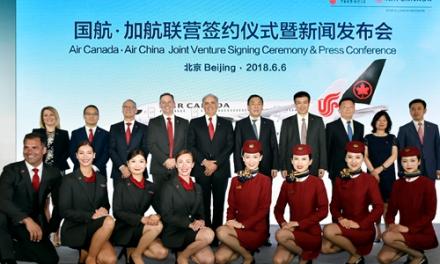 加航与中国国际航空联营,新增564个航班!