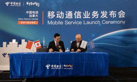 中国电信加拿大重磅推出移动通信业务