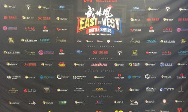 武林风·战龙决中加选手郑州比武,中国电信·中兴通讯5G技术直播助力