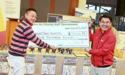 萬錦市市議員何胡景(Councillor Alan Ho)之第8 屆「萬錦高球送暖流」2019 慈善高爾夫賽成功举办