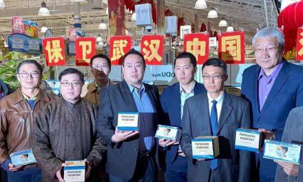 加拿大华侨华人驰援武汉抗击疫情