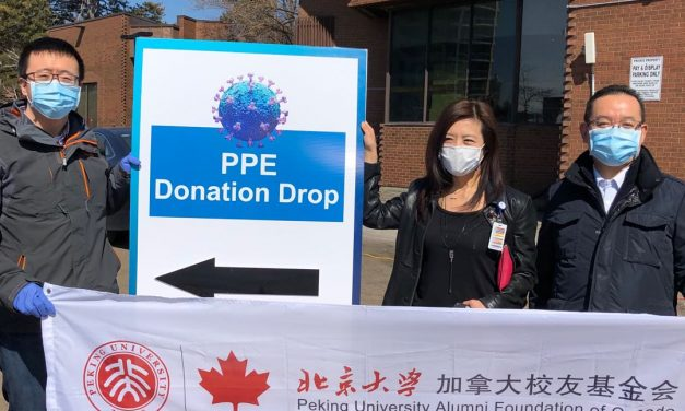 抗疫保加 砥砺前行,加拿大北大人在行动