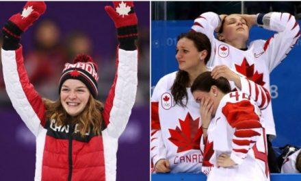 2018平昌冬奥会:加拿大奖牌总数有望破纪录 女子冰球失去五连冠