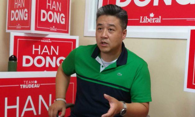 选择向前,联邦自由党候选人董晗鹏在DON VALLEY NORTH信心征途