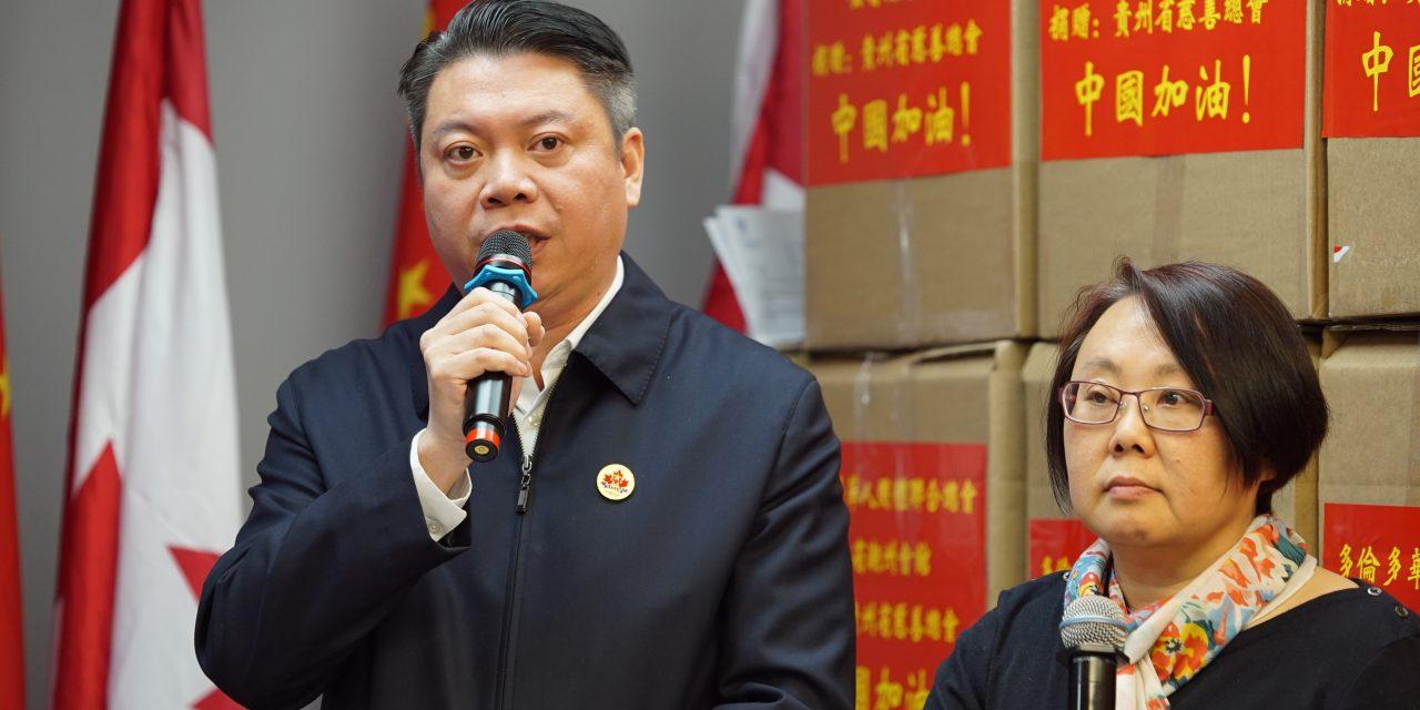从九江加油到多伦多加油!多伦多华人团体联合总会吹起华人海内外联合抗疫集结号