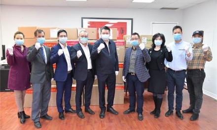 华联总会保加卫国继续行动:福清商会五天六次捐赠加拿大医院救护站