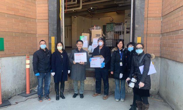 保加卫国 华人社区领袖和志愿者勇士在行动