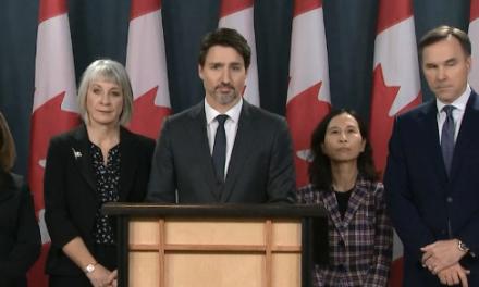 总理阐述加拿大应对 COVID-19 行动,设立了超过10亿加元的COVID-19应对基金